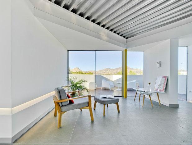 Industrial Sala de estar by La Errería * architecture office