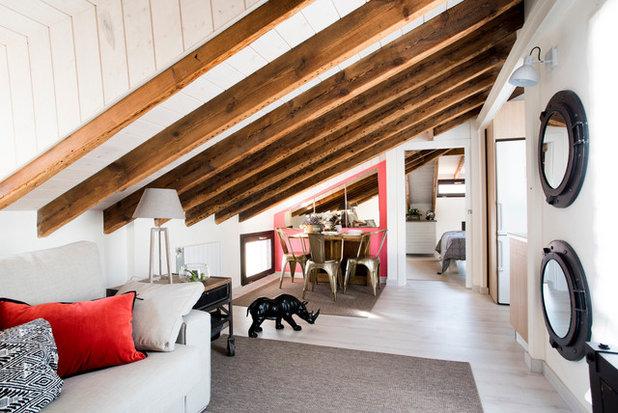 Ecléctico Sala de estar by Komoda Decoración
