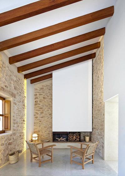 Mediterráneo Sala de estar by Marià Castelló, Arquitecte