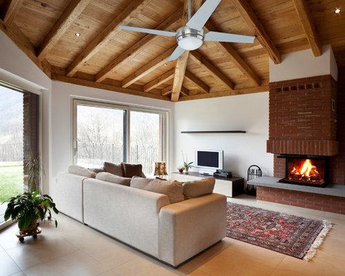 Ideas para salas de estar   Fotos de salas de estar de tamaño medio ...