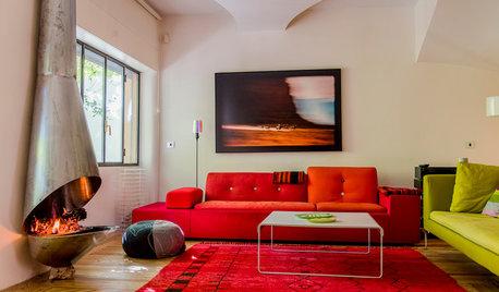 11 sofás cómodos de colores para alegrar el salón