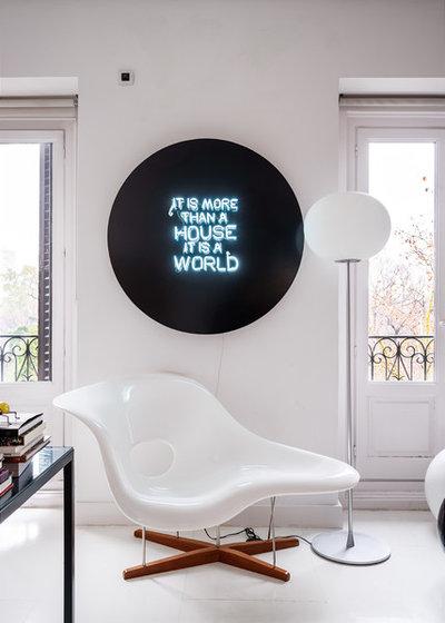 Ecléctico Sala de estar by Javier Bravo