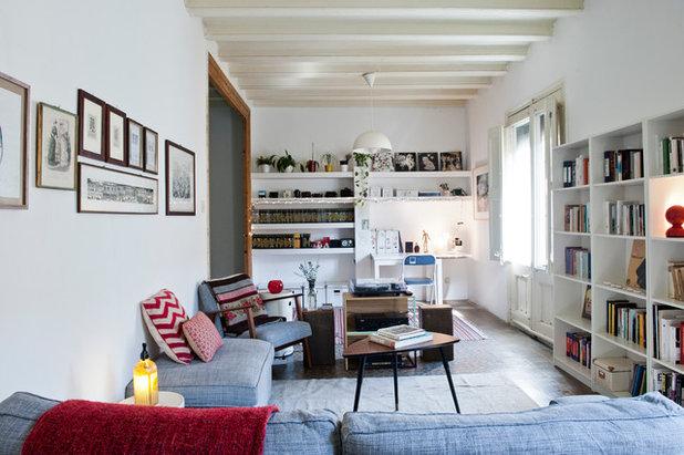 Mediterráneo Sala de estar by Bluetomatophotos