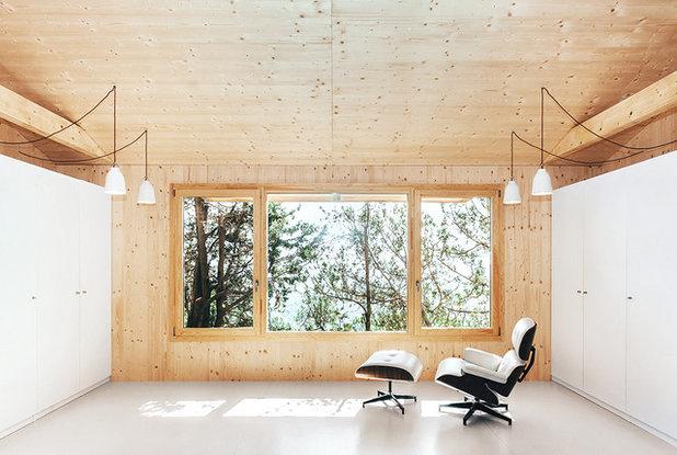 Nórdico Sala de estar by dom arquitectura