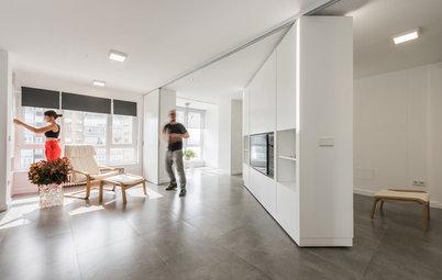 Visite Privée : Un appartement caméléon se transforme en un seul geste