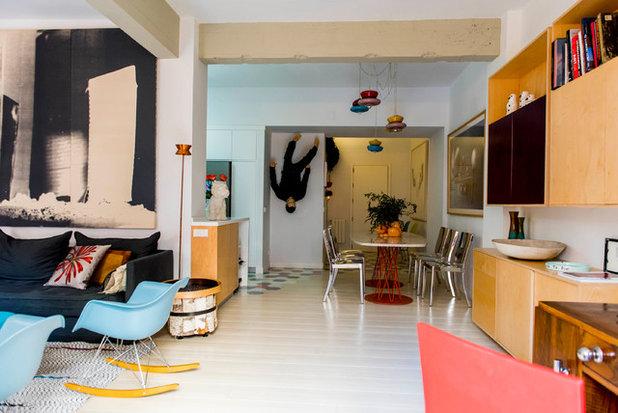 Ecléctico Sala de estar by Alfredo Arias photo