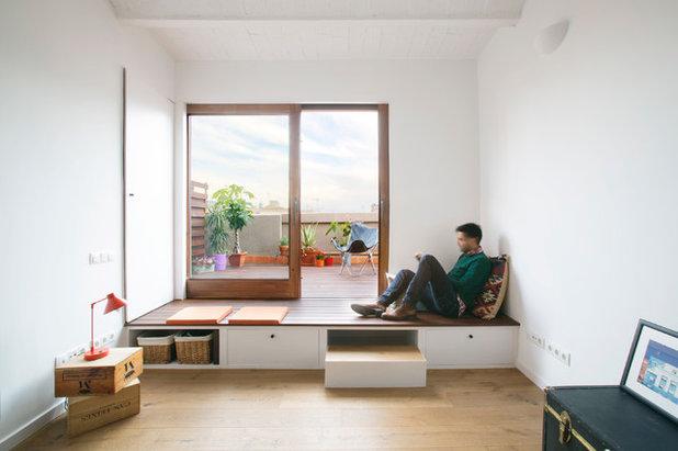 Ecléctico Sala de estar by Nook Architects