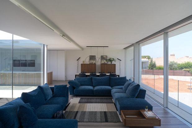 Contemporáneo Sala de estar by Casastar Construcciones