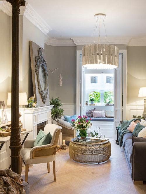 Ideas para salas de estar   Fotos de salas de estar con marco de ...