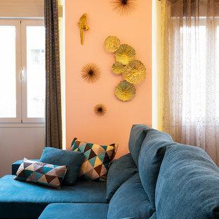 De piso viejo a divertida casa de diseño en Madrid Río.