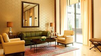 Decoración de paredes del Hotel Westin de Valencia