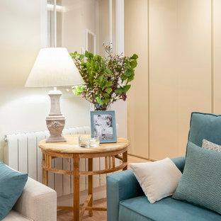 Decoración de salón en reforma integral de vivienda en Bilbao