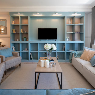 Diseño de piso para familia - parte 1: hall, salon y cocina