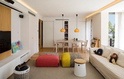 Дизайн-совет: Приемы превращения невысокого потолка в высокий
