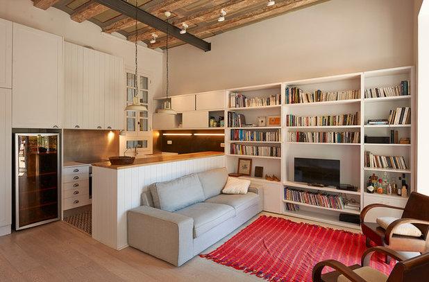 Industrial Sala de estar by THE ROOM & CO arquitectura