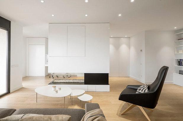 As se combina el color del suelo con el de paredes y puertas for Azulejo de parquet negro imitacion