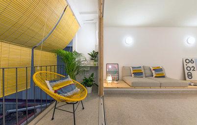 Antes y después: De piso anticuado a apartamento contemporáneo
