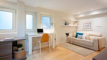 Home staging en apartamento en venta