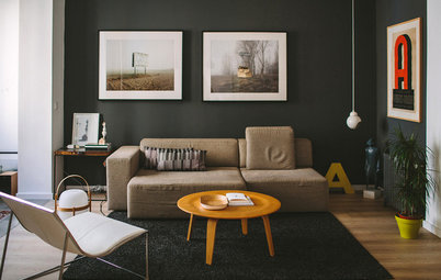 My Houzz: A Stylish Family Home Filled With Art and Design