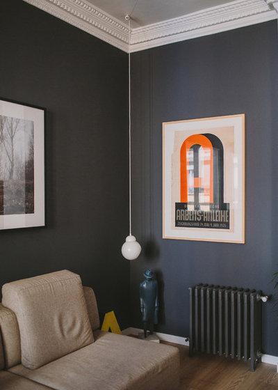 Moderno Sala de estar by Paula G. Furió