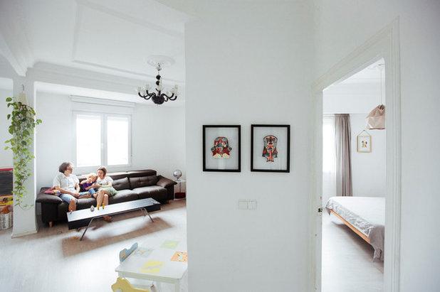 Clásico renovado Sala de estar by estudio fandi