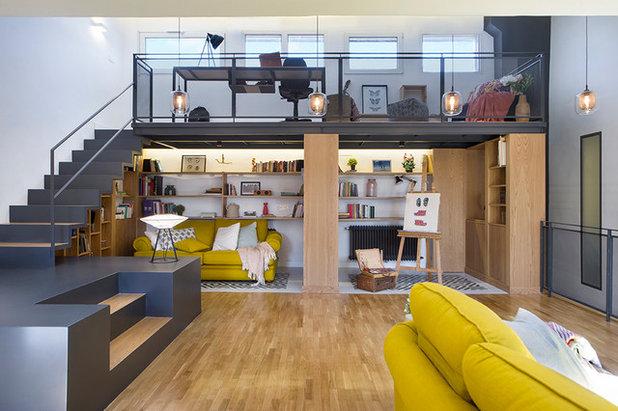 Contemporáneo Sala de estar by Egue y Seta