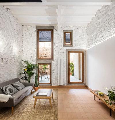 Contemporáneo Sala de estar by CRÜ studio