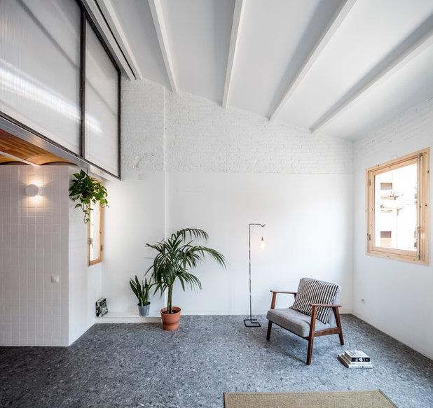 Industrial Sala de estar by CRÜ studio