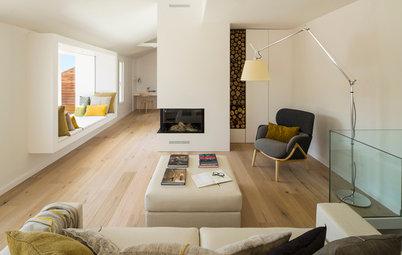 Casas Houzz: Un interior cálido de estilo nórdico