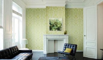 Papel pintado informal para sala
