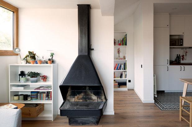 Nórdico Sala de estar by CLAAAC - interiorismo y diseño