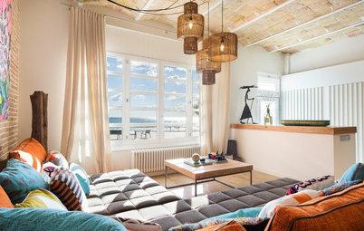 Casas Houzz: Una vivienda centenaria en Sitges rebosante de color
