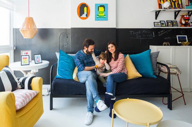 Contemporáneo Sala de estar by Masfotogenica Interiorismo