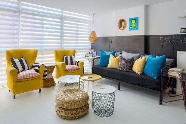 Nórdico Sala de estar by Masfotogenica Interiorismo