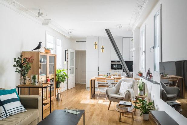 Contemporáneo Sala de estar by Javier Bravo