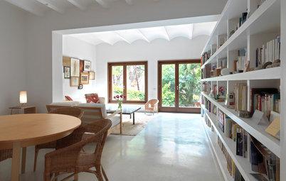 Casas Houzz: De semisótano en ruinas a un piso luminoso y diáfano