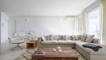 Salón de apartamento turístico en Gavà