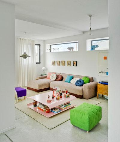 Contemporáneo Sala de estar by SANCAL