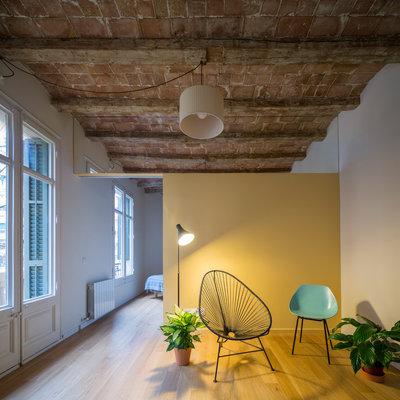 Industrial Sala de estar by Nook Architects