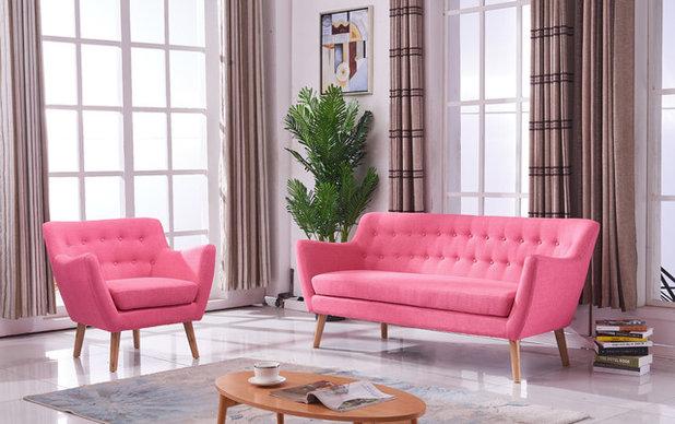 Nórdico Sala de estar by Muebles Marieta