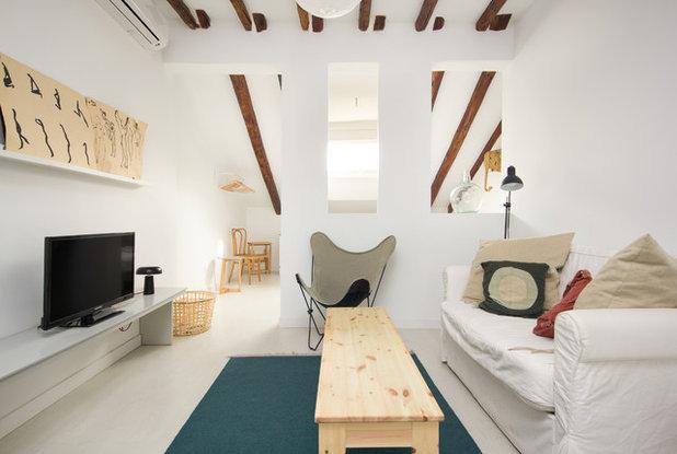 Tu salón es pequeño y oscuro? 6 claves para elegir los muebles