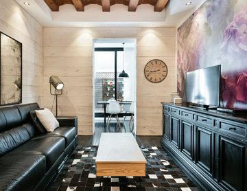 Un apartamento ecléctico en Barcelona