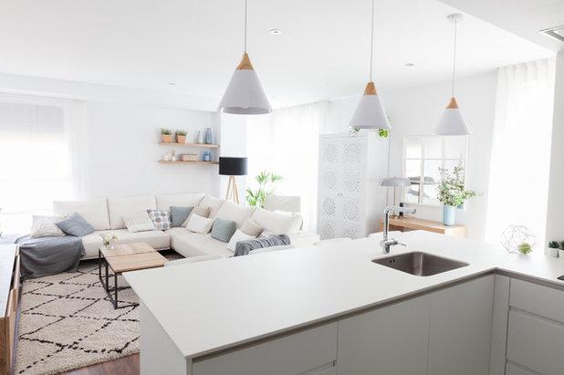 Costero Sala de estar by Slow & Chic - Fotografía e Interiorismo
