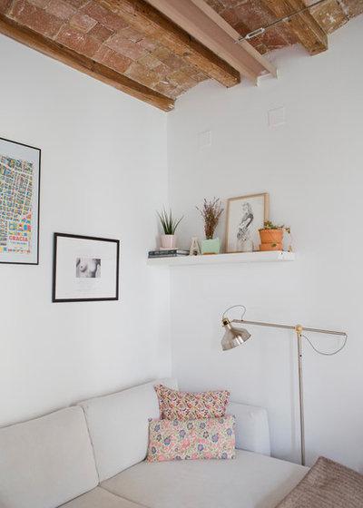 Nórdico Sala de estar by Bluetomatophotos