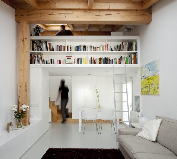 12 ideas para organizar una biblioteca en el saln