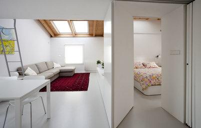 Casas houzz un piso de corte se orial en el madrid de los for Foto di soggiorni arredati