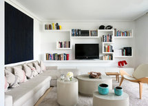 Wall Shelves for books and TV