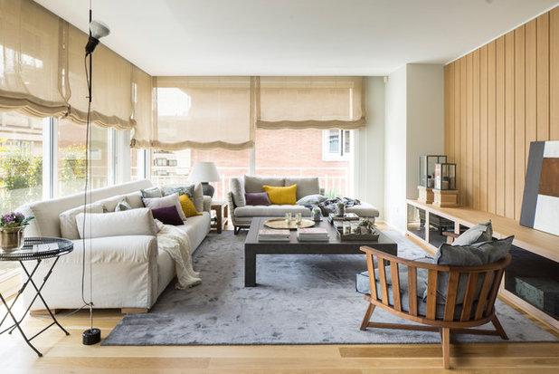 Contemporáneo Sala de estar by The Room Studio