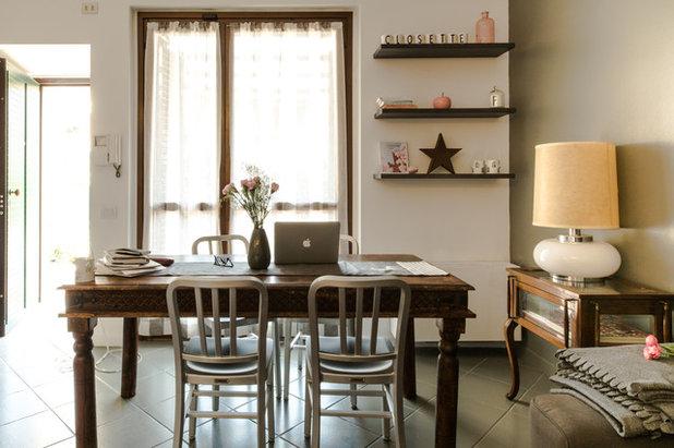 Moderno Sala da Pranzo by Ilaria Pagnan