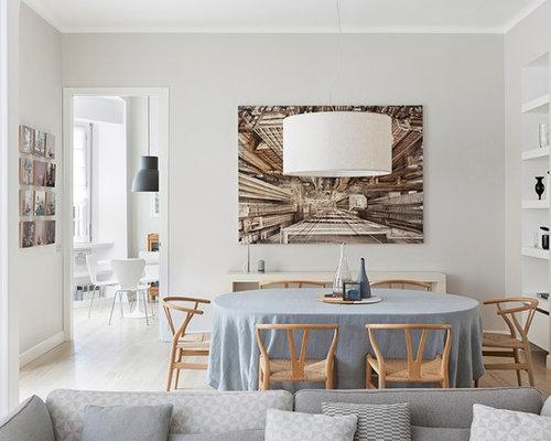 Sala da pranzo contemporanea Italia - Foto, Idee, Arredamento